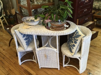 Sweet Wicker Set.