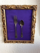 Fork and Spoon from the Old Lincoln Hotel in Scottsbluff, NE