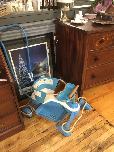 Did your parents have one of these metal strollers?