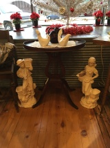 How about this lovely harp table?