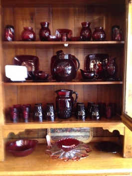More Royal Ruby Red in excellent condition.