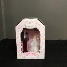 Vintage Barbie and Ken Wedding topper.