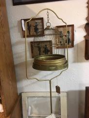 Vintage bird cage.