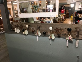 Awesome reclaimed wood with antique door knobs