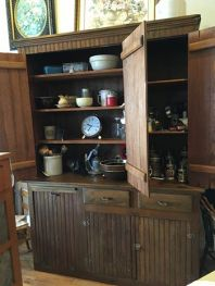 Primitive cabinet from one of the first homesteads west of Mitchell, NE