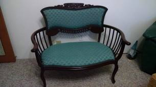 Settee that is over 100 years old