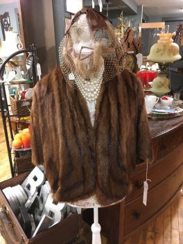 We have a variety of fur, faux fur coats.