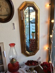 Gold mirror for a special space in your home.