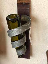 Wine holder made from Wine barrel.
