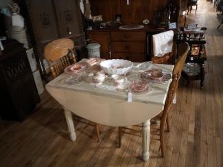 Sweet repurposed table.