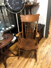 Rock those little babies to sleep in this beautiful rocking chair.
