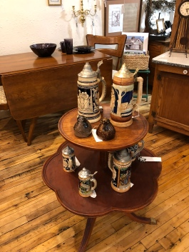 Tossed & Found has a nice variety of collectible steins.