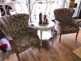 Beautiful Barrel Upholstery Chair