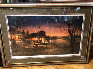 This Terry Redlin collector print is signed by the artist.