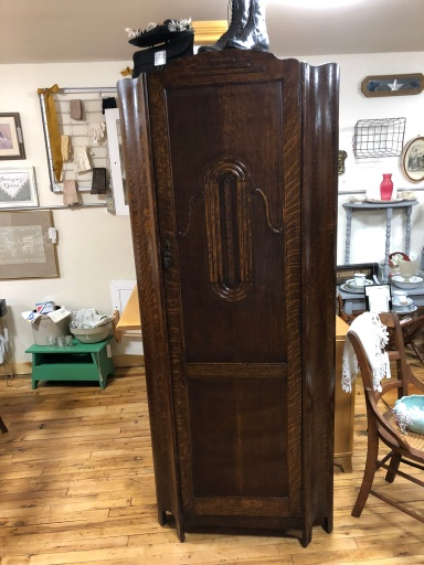Art Deco Armoire with original pole.