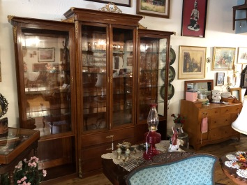 Fabulous Antique French Inspired Display Cabinet