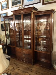 Antique French Inspired Display Cabinet
