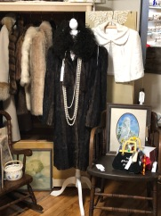 We have a variety of vintage coats, furs and capelets.