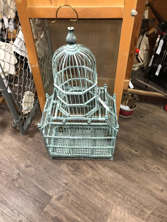 Awesome bird cage.