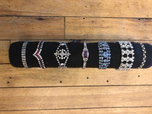Lovely selection of vintage bracelets
