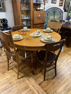 Quartersawn Oak Table