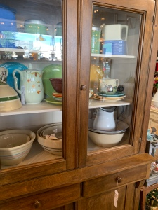 Nice selection of crock bowls.