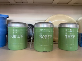Enamel Cannisters