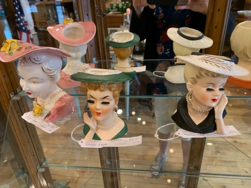 Lovely selection of Head Vases.
