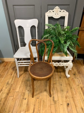 We have a lovely selection of vintage chairs.