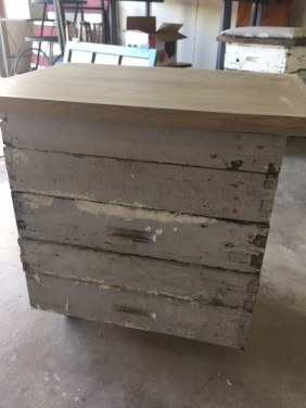 Bee Box Rolling Table