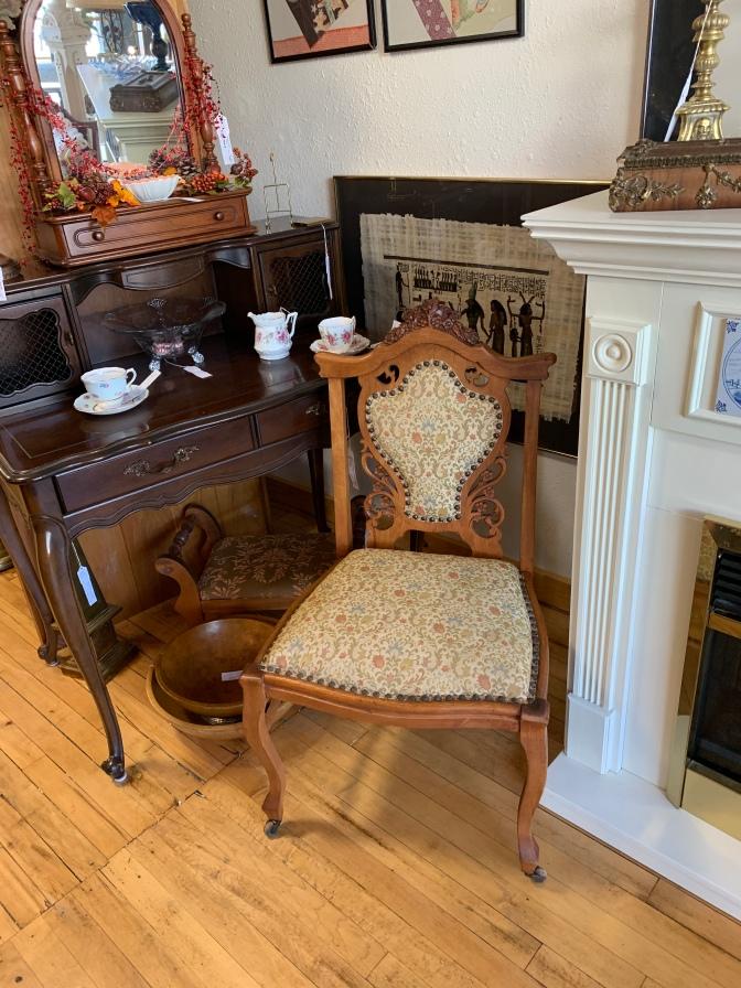Matching Victorian Chair