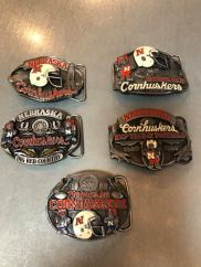Nebraska Collectible Belt Buckles