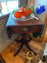 Empire Style Mahogany Drop Leaf Table