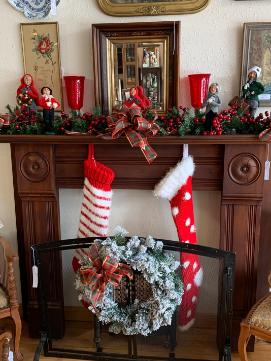 Gorgeous Fireplace Mantle