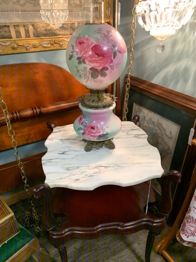Lovely Hand-painted Ball Globe Lamp