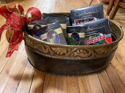 Tossed & Found carries Nebraska's own Baker Chocolates!