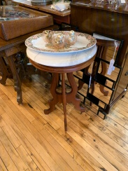 Small Marble-topped Table