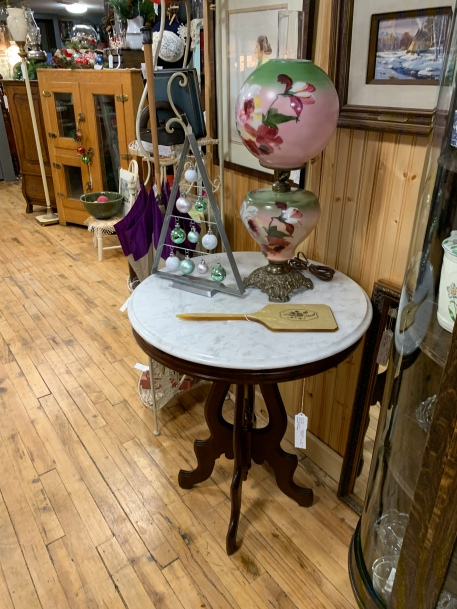 Marble-topped Occasional Table