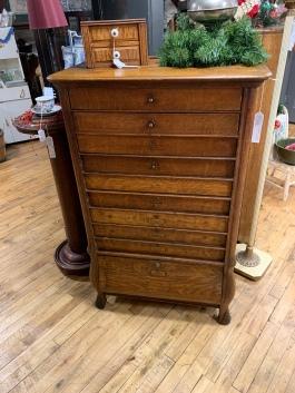 Antique Cash Register Cabinet