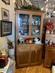 Primitive Kitchen Step-back Cabinet