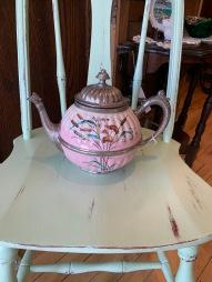 Enamelware Tea Pot