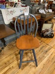 Set of 4 swivel bar height stools