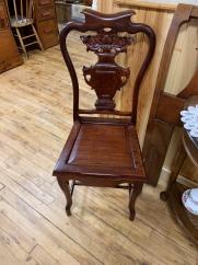 Stunning Burlwood Chair (2)