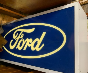 Vintage Ford Dealership Sign