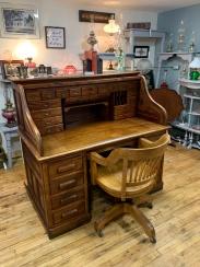 Fabulous Antique Roll-top Desk!