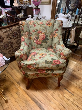 Beautiful Vintage Feather Cushion Chair