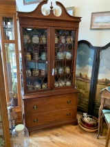 Lovely Federal Style Hutch