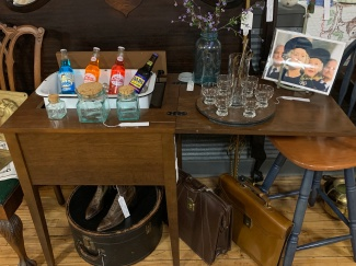 Repurposed Sewing Machine Bar
