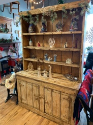 Farm House Step Back Cupboard. One-of-a-kind find!!